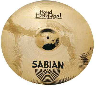 15in Sabian Hand Hammered Suspended Cymbal Image