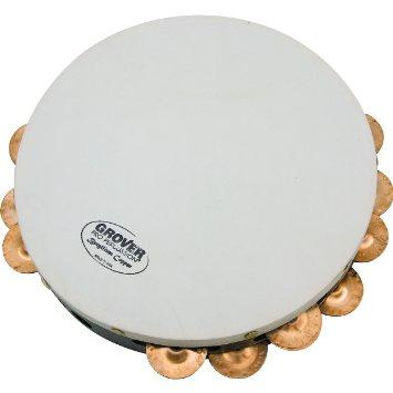 """Tambourine: 10"""" Beryllium Copper Image"""