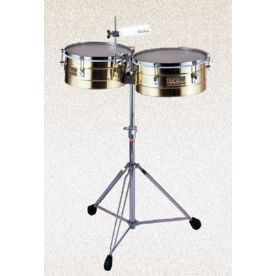 Timbales - Toca Brass 14in & 15in Image