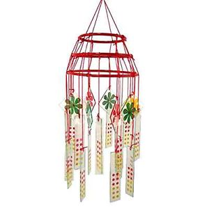 Glass Wind Chimes Image
