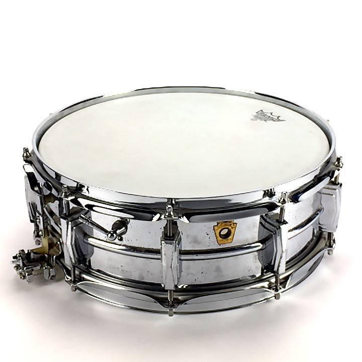 "Ludwig Super 14""x5"" Steel Shell Image"