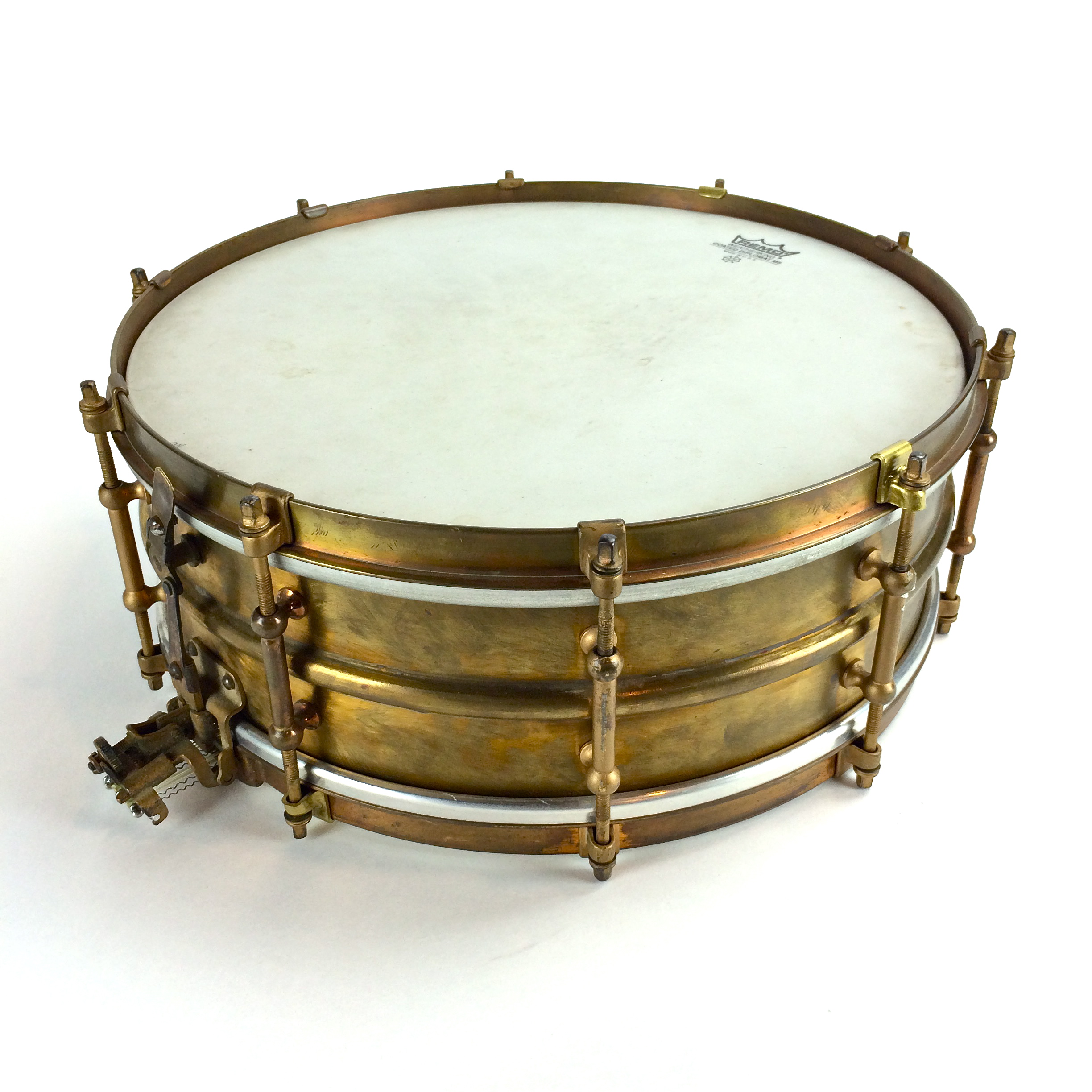"Ludwig Super 14""x5"" Brass Shell Image"