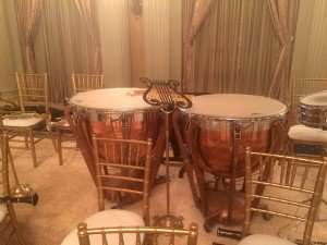 "Our Ludwig timpani used for a scene in ""All the Way"""