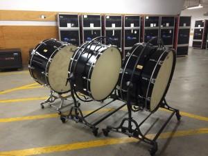 Bass Drums Disney Hall