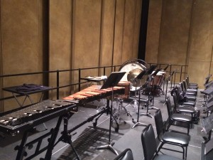 Debut Orchestra Percussion Section at Royce Hall